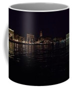 Split Old Town By Night Coffee Mug