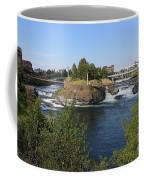 Spokane Falls Hdr Coffee Mug by Carol Groenen