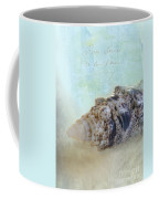Spotted Auger Seashell Coffee Mug by Betty LaRue