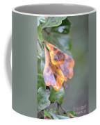 Spotted Oak Leaves In Autumn Coffee Mug
