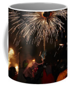 Spray Of Sparks Coffee Mug