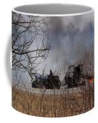 Spring Burning Of The Blueberry Fields Coffee Mug