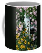 Spring Flowers And Fencepost Coffee Mug