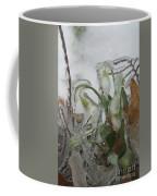 Spring Flowers In Ice Storm Coffee Mug