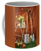 Spring Gardening Coffee Mug by Amanda Elwell