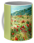 spring near the Dead See Coffee Mug