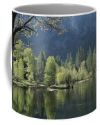Spring View Of The Merced River Coffee Mug