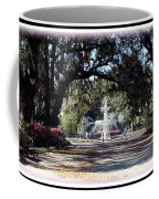 Spring Walk Through Forsyth Park Coffee Mug