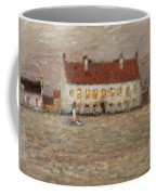 Square - Fort-philippe Coffee Mug by Henri Eugene Augustin Le Sidaner