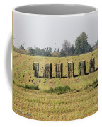 Square Hay Bales Coffee Mug