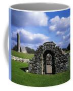 St Brigids Church, Inis Cealtra Holy Coffee Mug