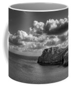 St Catherines Rock Tenby Coffee Mug by Steve Purnell