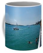 St. Clair River Boardwalk Coffee Mug