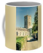 St Davids Cathedral Pembrokeshire Lomo Coffee Mug