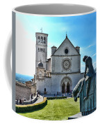 St Francis Basilica   Assisi Italy Coffee Mug