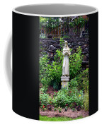 St Francis In The Garden Coffee Mug