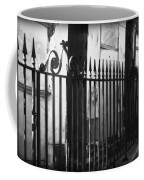 St Louis Cemetery Number One Tombs And Wrought Iron Coffee Mug