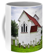 St. Luke's Church And Cemetery In Placentia Coffee Mug by Elena Elisseeva