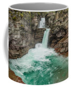 St. Mary Falls In Spring Coffee Mug