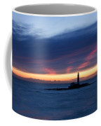 St Marys Lighthouse Sunrise Coffee Mug