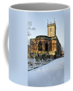 St Modwen's Church - Burton - In The Snow Coffee Mug