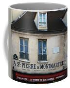 St Pierre De Montmartre Paris Scene Coffee Mug