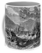 St. Thomas: Hurricane, 1867 Coffee Mug