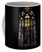 St Vitus Cathedral Stained Glass Coffee Mug