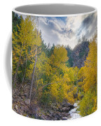 St Vrain Canyon Autumn Colorado View Coffee Mug
