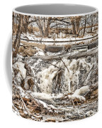 St Vrain River Waterfall   Coffee Mug