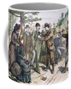 Stagecoach Robbery, 1880s Coffee Mug by Granger