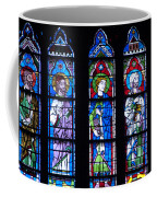 Stain Glass At Notre Dame Cathedral Parus Coffee Mug