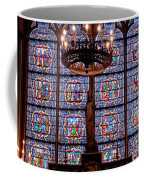 Stained Glass At Notre Dame Cathedral Coffee Mug