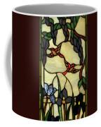 Stained Glass Humming Bird Vertical Window Coffee Mug