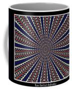 Stained Glass Kaleidoscope 49 Coffee Mug