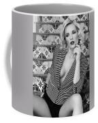 Stairs And Stripes Bw Coffee Mug