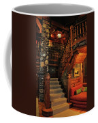 Stairway In Gillette Castle Connecticut Coffee Mug