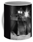 Stairway To Montmartre At Night Coffee Mug