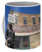 Standin On The Corner In Winslow Arizona Coffee Mug