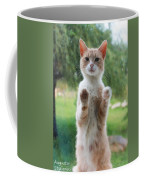 Standing Cat Coffee Mug