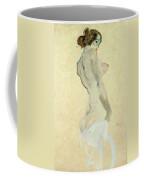 Standing Female Nude Coffee Mug