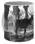 Standing Tall In Black And White Coffee Mug