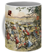 Stanley Leads Attack On Hostile Tribe Coffee Mug