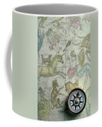 Star Map And Compass Coffee Mug