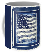 Star Spangled Banner Blue Coffee Mug