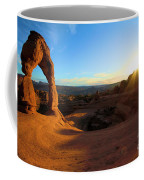 Starburst At Delicate Arch Coffee Mug