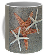 Starfish Three Coffee Mug by Sandi OReilly