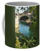 Stari Most Or Old Town Bridge Over The Coffee Mug