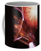 Starships Hone Their Skills Coffee Mug