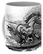 Startled Equus Coffee Mug